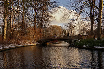 Photograph - Winter In The Park- 365-277 by Inge Riis McDonald