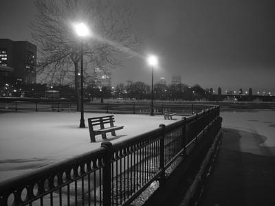 Winter In The Park Art Print by Eric Workman