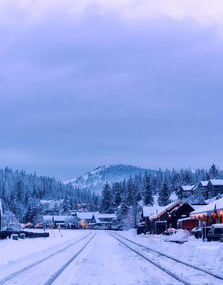 Photograph - Winter In Truckee California by Unsplash