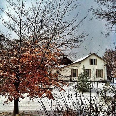 Digital Art - Winter In Woodstock by Eduardo Tavares