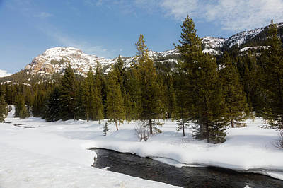 Photograph - Winter In Yellowstone by L O C