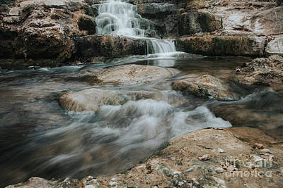Art Print featuring the photograph Winter Inthe Falls by Iris Greenwell