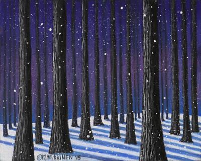 Pastel - Winter Is Coming 01 by Michael Heikkinen