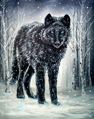 Painting - Winter Is Coming by Teshia Art