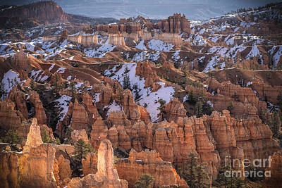 Photograph - Winter Is Leaving Bryce by Jennifer Magallon