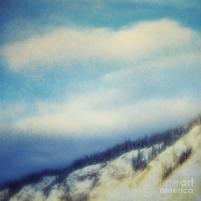 Winter Is So Quiet It Needs No Words Art Print by Priska Wettstein