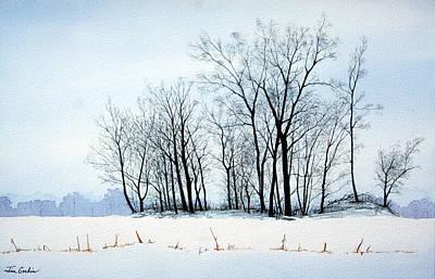 Winter Island Original by Jim Gerkin
