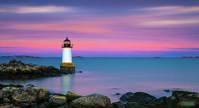 Photograph - Winter Island Light 1 by Brian Hale