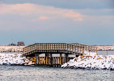 Photograph - Winter Jetty by Janice Drew