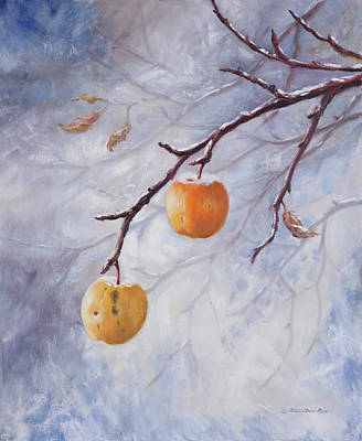 Painting - Winter Jewels by Patricia Baehr-Ross