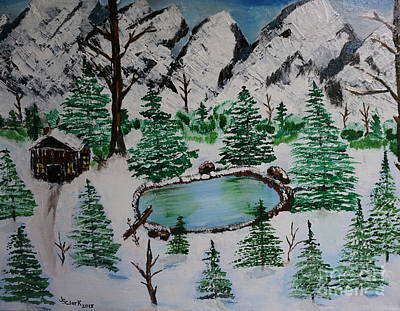 Painting - Winter by Jimmy Clark