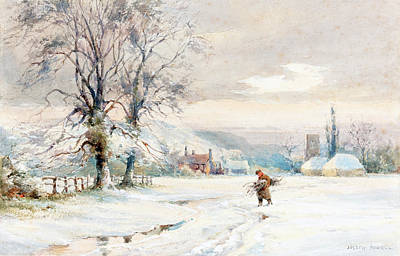 Painting - Winter by Joseph Rubens Powell