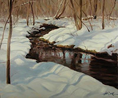 Winter Journey Original by Scott Harding