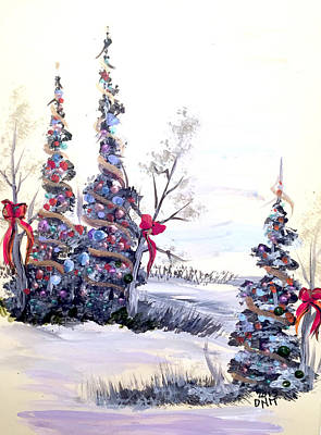Painting - Winter Joy by Dorothy Maier