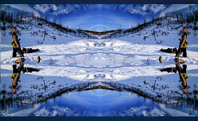 Photograph - Winter Kaleidoscope by Philip Rispin