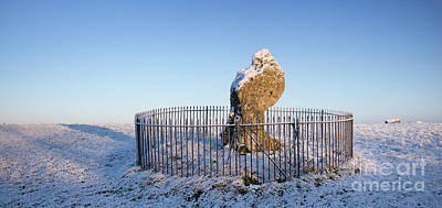 Photograph - Winter King Stone by Tim Gainey