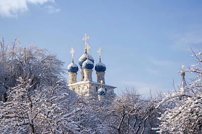 Winter Garden Photograph - Winter by Konstantin Sevostyanov