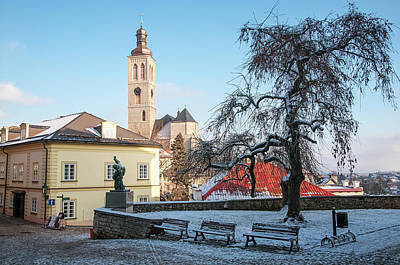 Photograph - Winter Kutna Hora by Jenny Rainbow