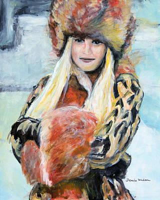 Painting - Winter Lady by Denice Palanuk Wilson