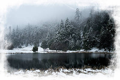 Photograph - Winter Lake by Hugh Smith