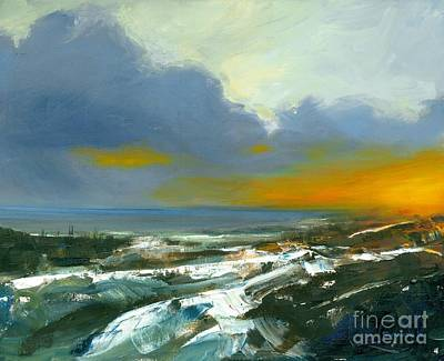 Painting - Winter Lake View by Michael Swanson