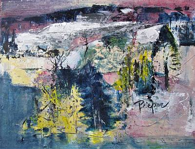 Painting - Winter Landscape by Betty Pieper