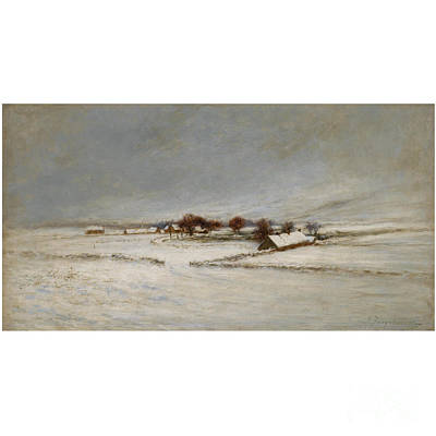 Joseph Farquharson Wall Art - Painting - Winter Landscape by MotionAge Designs