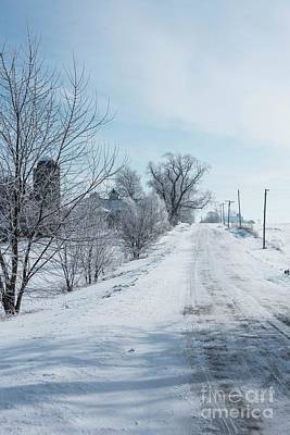 Photograph - Winter Lane by David Bearden