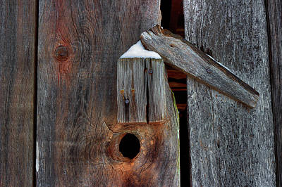 Photograph - Winter Latch by Mike Eingle