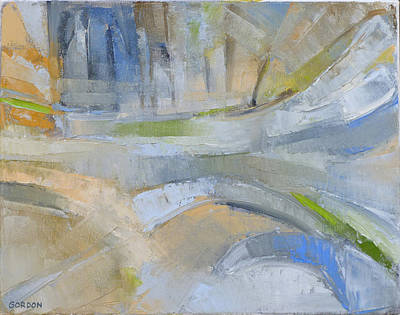Painting - Winter Light 1 by Kim Gordon