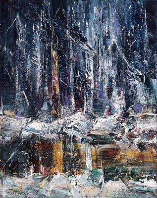 Painting - Winter Light Iv by Stefano Popovski