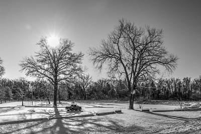 Photograph - Winter Light by J Laughlin