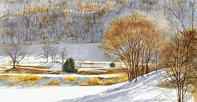 Painting - Winter Light by Phyllis Martino