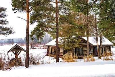 Cozy Cabin Art Fine Art America