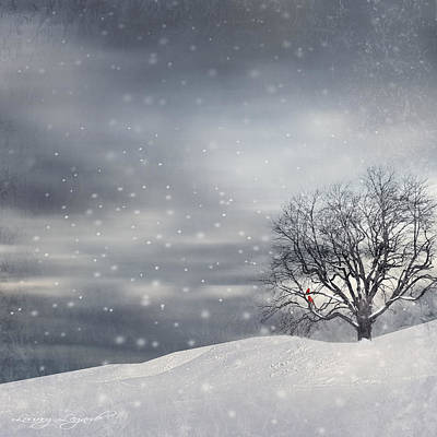 Winter Art Print by Lourry Legarde