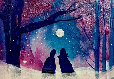 Painting - Winter Love by Gina Signore