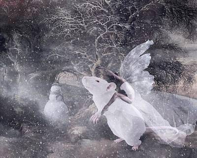 Digital Art - Winter Madness by Terry Fleckney