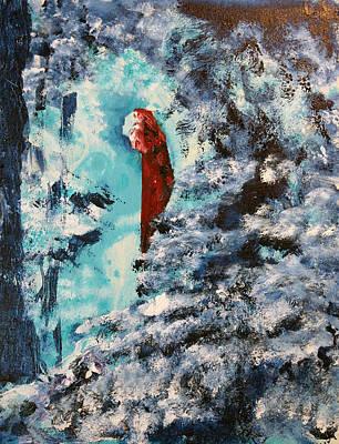 Winter Maiden Art Print