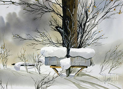 Painting - Winter Mail by James Williamson