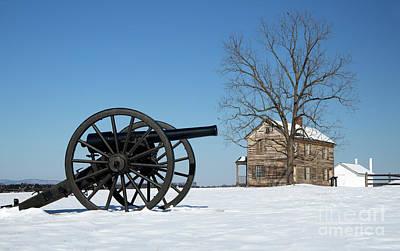 Photograph - Winter At Manassas Battlefield by Art Cole