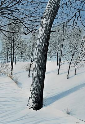 Painting - Winter Maple by Kenneth M  Kirsch