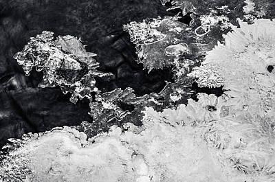 Photograph - Winter Masterpiece. Frozen Nature by Jenny Rainbow