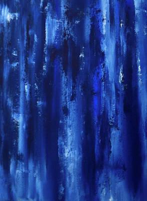 Painting - Winter Midnight In Finland by Johanna Hurmerinta