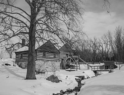 Photograph - Winter Mill by Amber Kresge