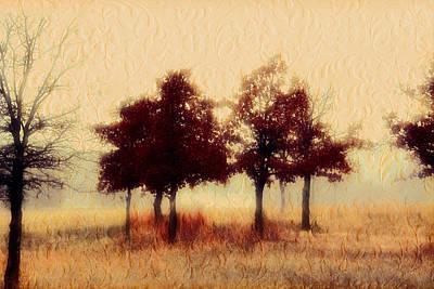 Wall Art - Digital Art - Winter Mist by Shannon Story