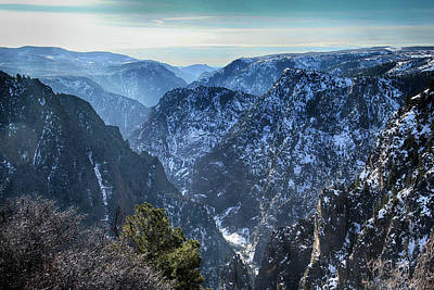 Photograph - Winter Morning At Black Canyon by Marie Leslie
