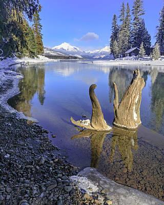 Photograph - Winter Morning At Mcdonald Creek by Jack Bell