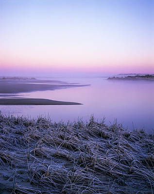Photograph - Winter Morning At Siltcoos by Robert Potts