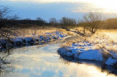Photograph - Winter Morning by Bonfire Photography