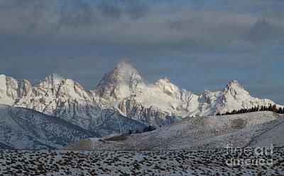 Photograph - Winter Morning - Grand Teton National Park by Sandra Bronstein